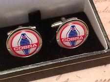 AC Cobra Gemelos de Plata en Caja Coleccionable Nuevo Y En Caja gemelos