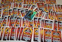 LE2 HAN SOLO + 200 gemischte Basis Karten aus Star Wars Force Attax Movie 3