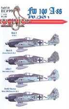 EagleCals Decals 1/48 FOCKE WULF Fw-190A-8 Fighter Sturmjager JV/JG3