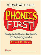 Phonics First!: Ready-to-Use Phonics Worksheets for the Primary Grades (Student