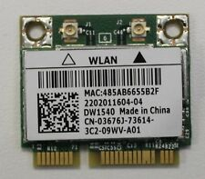 More details for dell wireless dw1540 wlan wifi card 03676j