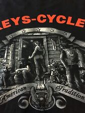 VTG XL Harley Davidson Florida Keys Shirt Rare Ride Like The Wind Motorcycle