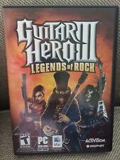 Guitar Hero III: Legends of Rock - Disc & Manual Only PC