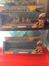 2 1975 matchbox sea kings ships the frigate and corvette boxed