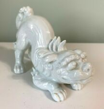 Fitz & Floyd Blanc de Chine Foo Dog 1970's Temple / Lion Dog Vintage