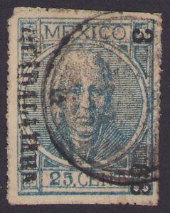 dg14 Mexico #68 25ctv Perf GDA 3-68 R4 / TEPIC Sz 416 12pts est $10-20