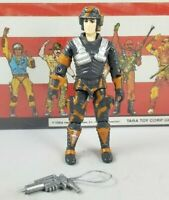 Original 1987 GI JOE BLOCKER V1 UNBROKEN figure ARAH not COMPLETE Battleforce 00