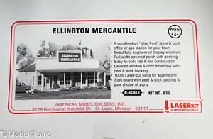 American Model Builders N #635 Ellington Mercantile (Building Kit) Laser Cut