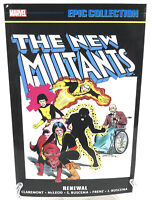 New Mutants Epic Collection Vol 1 Renewal Marvel Comics TPB New Paperback