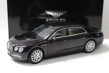 1:18 Kyosho Bentley Flying Spur W12 Damson DEALER NEW bei PREMIUM-MODELCARS