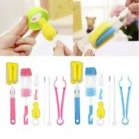 4/7Pcs Sponge Bottles Cleaning Brush Kitchen Thermos Teapot Cleaner Tool Set
