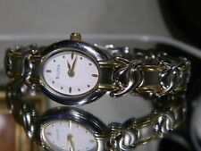 Womens Bulova Ultra Thin Slim Ultra Light Watch 98T22 New Battery. 2 Yr Warranty