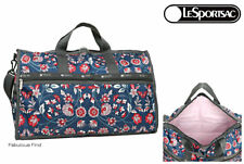 LeSportsac Blissful Vision Large Weekender + Cosmetic Bag Free Ship NWT D959