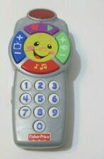 FISHER-PRICE REMOTE CONTROL TOY TEACHES NUMBERS PLAYS SONGS  BATTERY OPERATED