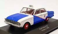 Altaya 1/43 Scale AL18121C - 1960 Ford Falcon XK Sidney Taxi - Blue/White