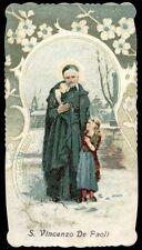 santino cromo-holy card-PAL-S.VINCENZO DE PAOLI 2