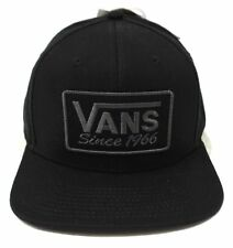 77da4be5 Vans - RECTANGLE 66 Mens Hat (NEW) Black Snapback Cap SINCE 1966 : Free