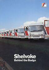 Prospekt Shelvoke SPV truck brochure 1979 GB LKWs Broschüre Autoprospekt