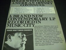 ROGER WHITTAKER Sept 8 - Oct 5, 1981 USA Tour Dates PROMO POSTER AD mint cond
