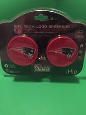 NFL New England Patriots Ihip Team Logo Speakers iPod iPhone Home Tom Brady