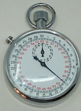 Vintage Swiss Junior Analogue 30 Second Stopwatch Working Mechanical