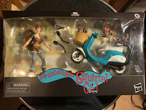 Marvel Legends SQUIRREL GIRL 6 Inch Action Figure  and Scooter New Free Shipping