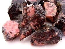 Rhodonite Crystals Crystal Mineral Specimen Bulk Wholesale 1/2 Pound LOT
