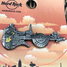 Hard Rock Cafe BRUSSELS / BRÜSSEL 3D Skyline Guitar Series 16 Pin - SOLD OUT