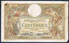 FRANCE - 100 FRANCS L.O MERSON Fay n° 24.8 du 20=2=1929.A en TB R.24253 870