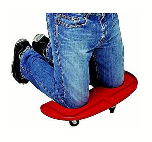 Rolling Knee Pads Durable Wheeled Platform Knee Pad Mechanic Carpenter Flooring