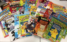 Lot of 6 POKEMON Scholastic West Viz Whitehall Children's Books - Random Mix