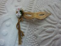 brass stamping finding party mask a566  doll house item candle decor neat item!!