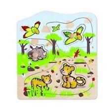 HAPE Steckpuzzle Puzzle Steckspiel 18 x 18 cm Ecoline