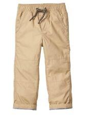 NEW Gap Jersey Lined Surplus Pants •KHAKI• Boys 4t
