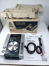 NOS Pioneer CDJ-200 Professional DJ CD/MP3 CD Player - Mint Condition, has box