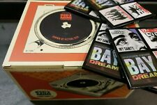 "Crosley RSD3 Mini Turntable + Epitaph 3"" Bundle (4 records / songs) - Brand New"