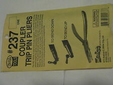 Kadee #237 Coupler Trip Pin Pliers -- Use for HOn3 to O Scale Trip Pins