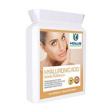 Hyaluronic Acid 50mg 60 Capsules Skin Joint Eye Health