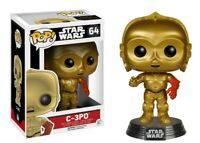 Star Wars: The Force Awakens C-3PO - Red Arm Funko Pop! Action Figure Brand New