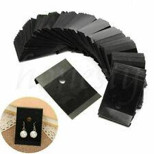 100pcs Earring Card Holder Black Earring Display Cards For Ear Studs 5 X 45cm