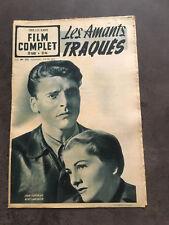 LE FILM COMPLET N°222 7/09/50 LES AMANTS TRAQUES Joan Fontaine Burt Lancaster B1