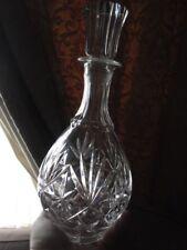BEAUTIFUL CUT GLASS/CRYSTAL DECANTER