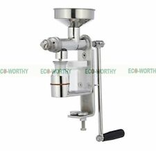 Heavy Duty Nut &Seeds Hand Operated Oil Screw Press Oil Expeller DIY Healthy Oil