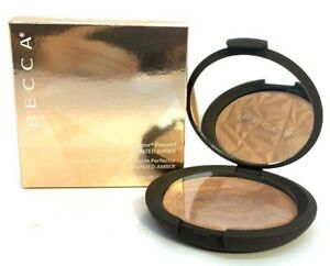 Becca Shimmering Skin Perfector Pressed ~ Bronzed Amber ~ .28 oz BNIB