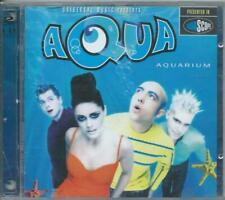 """AQUA  """"AQUARIUM"""" ORIGINAL 1997 LTD. DOUBLE CD LIKE NEW"""