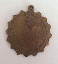 Statuette figurine amulette BOUDDHA BONZE PLAQUE pendentif Thaïlande b180
