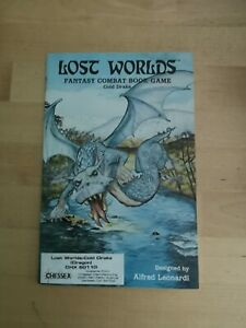 Lost Worlds Fantasy Combat Book Game Cold Drake
