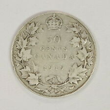 1919 .50 Cent Canadian Half Dollar Coin
