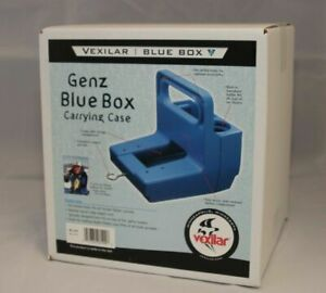 VEXILAR GENZ BLUE BOX CARRYING CASE BC-100