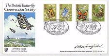 BH221 1981 GB Butterfly Conservation Benham Official FDC SIGNED *Beningfield*